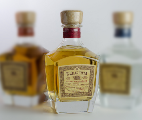 E. Cuarenta Tequila Reposado by E-40 750mL