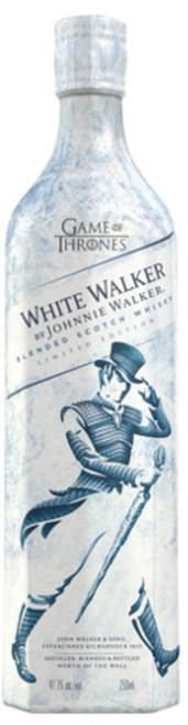 Johnnie Walker White Walker   Games of Thrones Limited Release 750mL