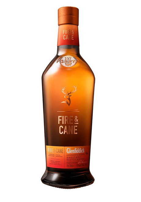Glenfiddich Fire & Cane Single Malt Whiskey 750mL