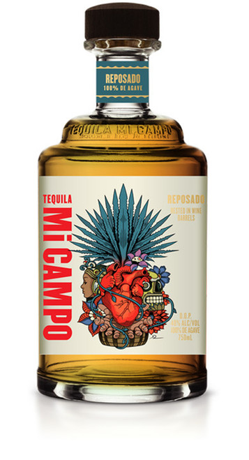 Tequila Mi Campo Reposado 750mL