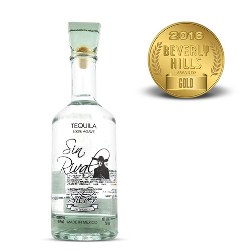 Sin Rival Silver Tequila 750mL