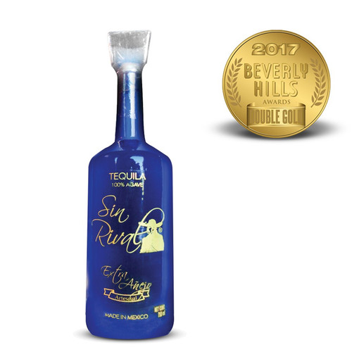 Sin Rival Extra Anejo Tequila 750mL