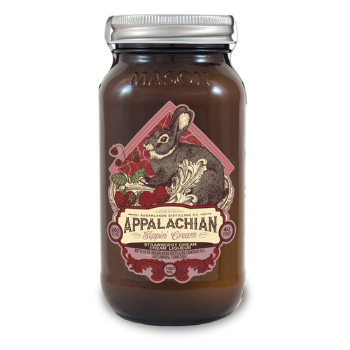 Sugarlands Appalachian Strawberry Dream Sippin' Cream 750mL
