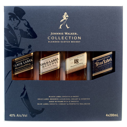 Johnnie Walker The Collection Set 4 - 200mL Bottles