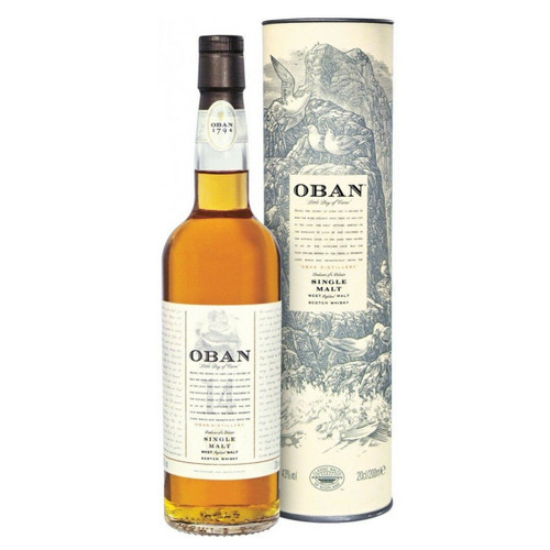 Oban 14 Year Single Malt Scotch Whisky 750mL
