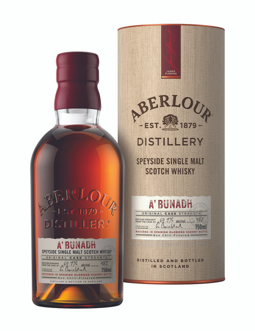 Aberlour A'bunadh Single Malt Scotch Whisky 750mL