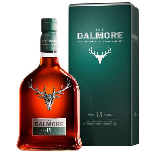 Dalmore 15 Year Single Malt Scotch Whisky 750mL