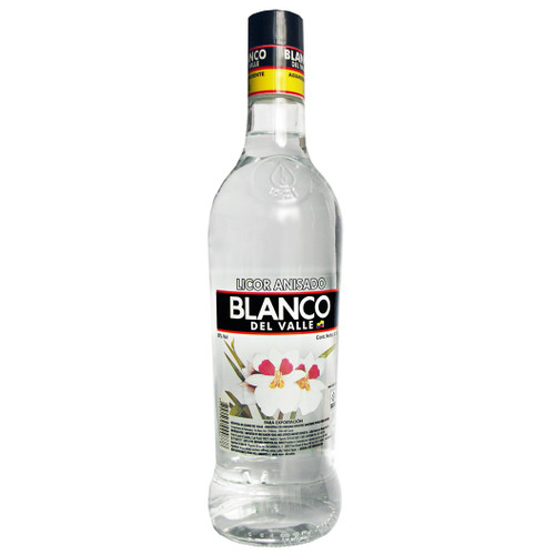 Aguardiente Blanco del Valle 750mL