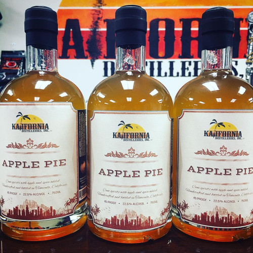 Kalifornia Apple Pie Bourbon 750mL