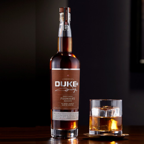 Duke Founder's Reserve Double Barrel Rye Whiskey 750mL