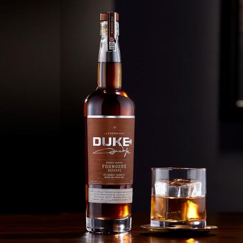 Duke Founder's Reserve Double Barrel Rye Whiskey 750mL
