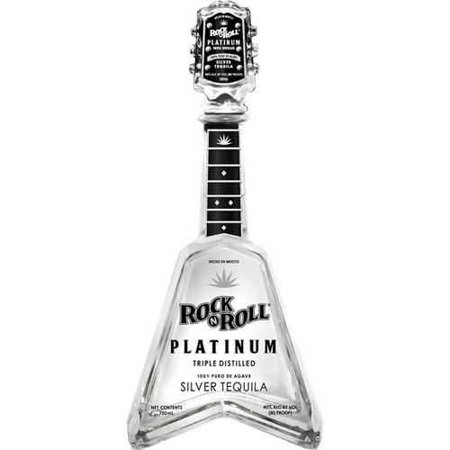 Rock n Roll Platinum Silver Tequila 750mL