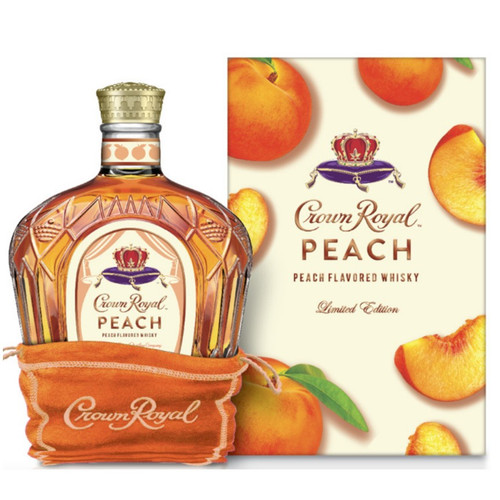 Crown Royal Limited Edition Peach Whisky 750mL