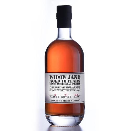Widow Jane 10 YR Bourbon Whiskey 750mL