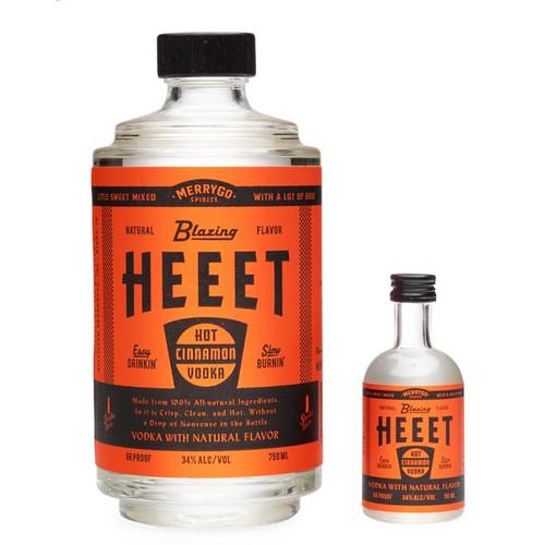 HEEET Blazing Hot Cinnamon Vodka 750mL