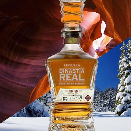 Tequila Dinastía Real Reposado 750mL