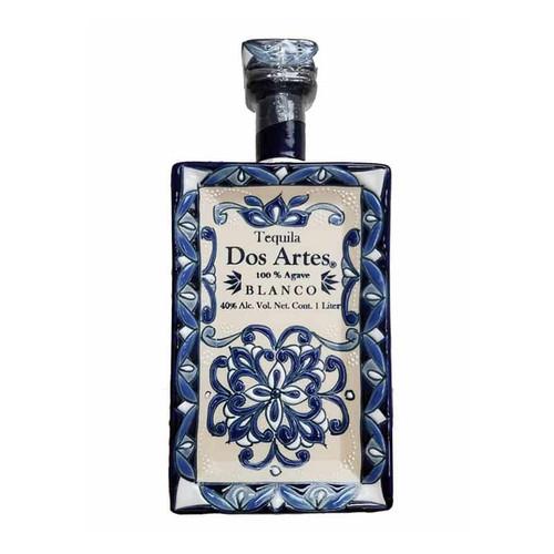 Dos Artes Reserva Especial Blanco Especial Tequila 100 % Agave (Hand Made Ceramic Bottle) 1L
