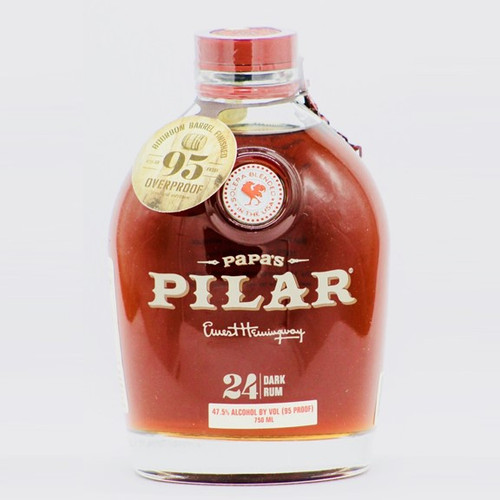 Papas Pilar 24 Year Bourbon Barrel Finished Dark 750mL