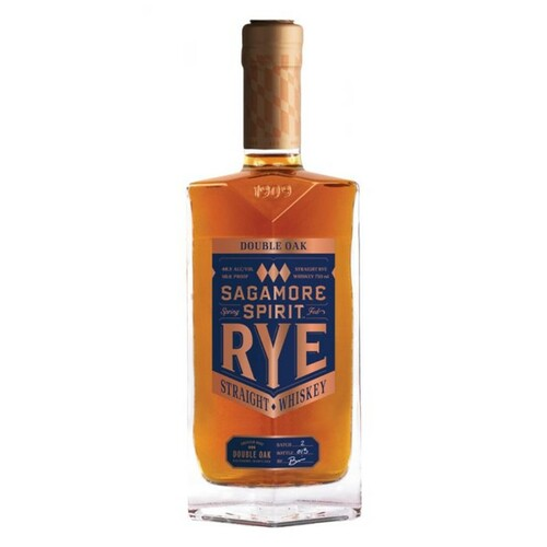 Sagamore Spirit Rye Double Oak Rye Whisky 750mL