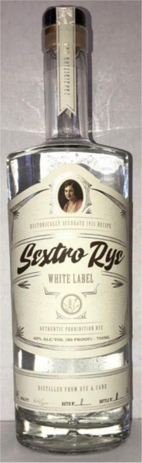 Sextro Rye White Label 750mL
