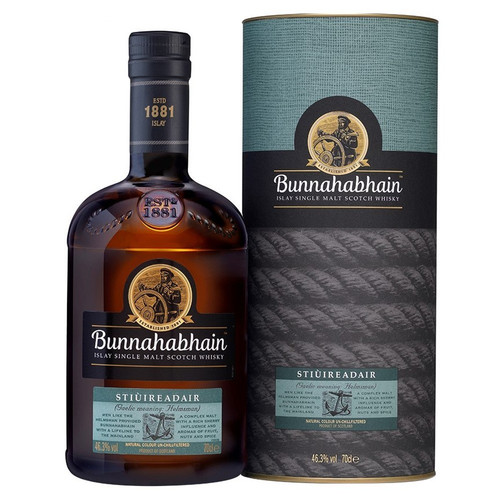 Bunnahabhain Stiuireadair Single Malt Scotch Whisky 750mL