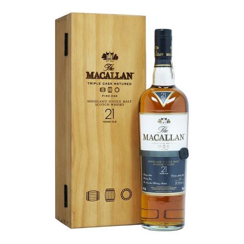 Macallan 21 Year Old Fine Oak / Triple Cask Matured 750mL