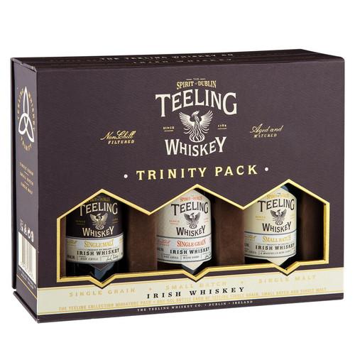 Teeling Irish Whiskey Trinity Pack