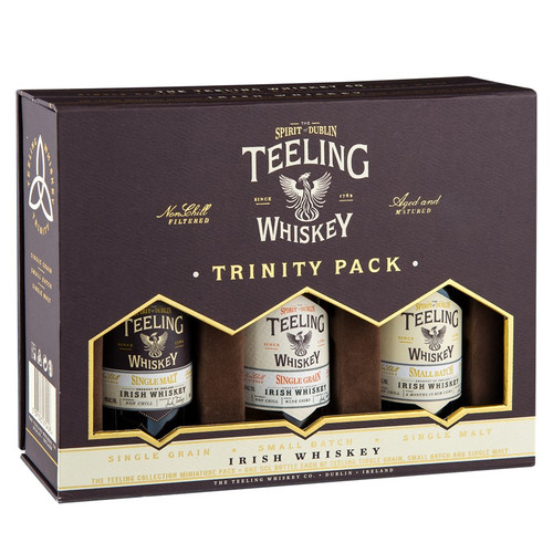 Teeling Irish Whiskey Trinity Pack