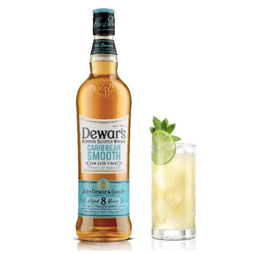 Dewar's Caribbean Smooth Scotch Whiskey 750mL