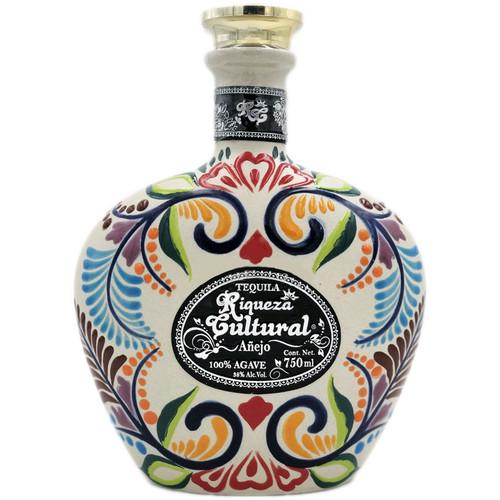 Riqueza Cultural Ceramica Anejo Tequila 750mL