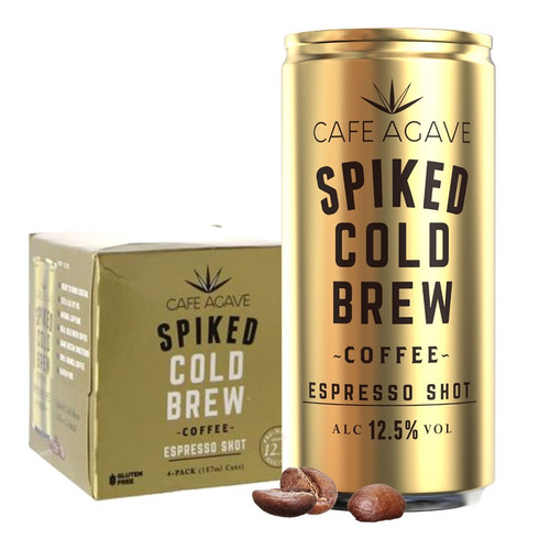 Cafe Agave Spiked Cold Brew Coffee Espresso Shot