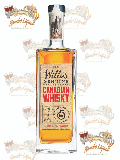 Willie's Genuine Canadian Whisky 750mL
