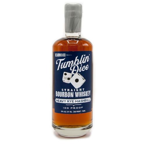 Tumblin' Dice 3 Year Old Heavy Rye Bourbon Whiskey 750mL