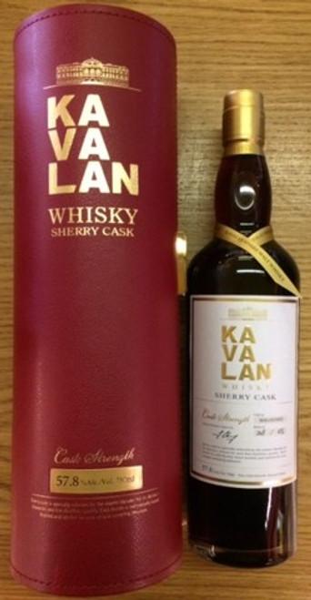Kavalan Single Sherry Cask Whisky 750mL