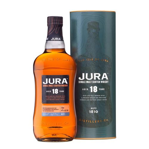 Jura 18 Year Old Red Wine Finish 750mL