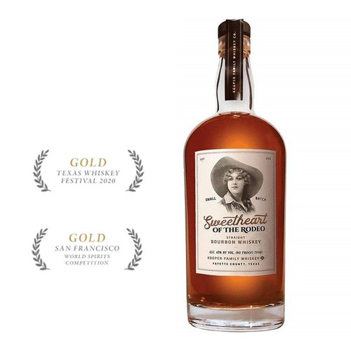 Sweetheart Of The Rodeo Bourbon 750mL