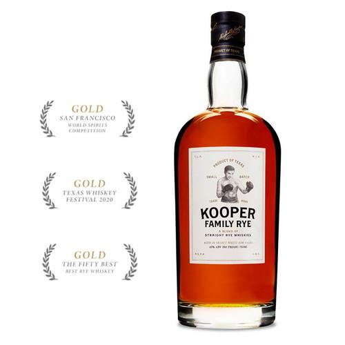 Kooper Family Rye 750mL