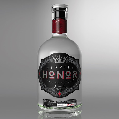 Tequila Honor, Reflexion Blanco 750mL