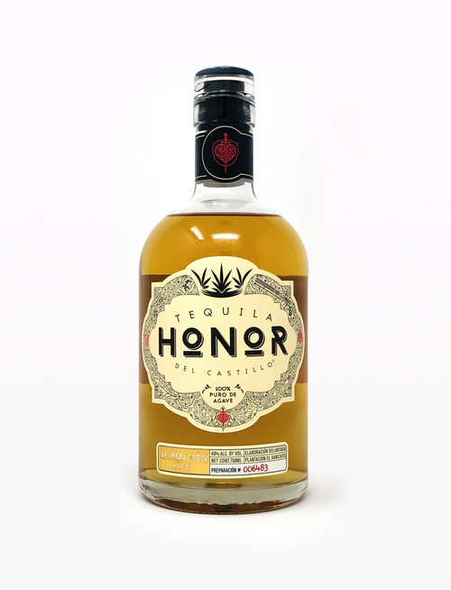 Tequila Honor Del Castillo Anejo 750mL