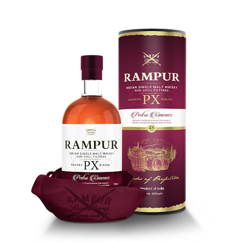 Rampur PX Sherry Finish Indian Single Malt Whisky 750mL