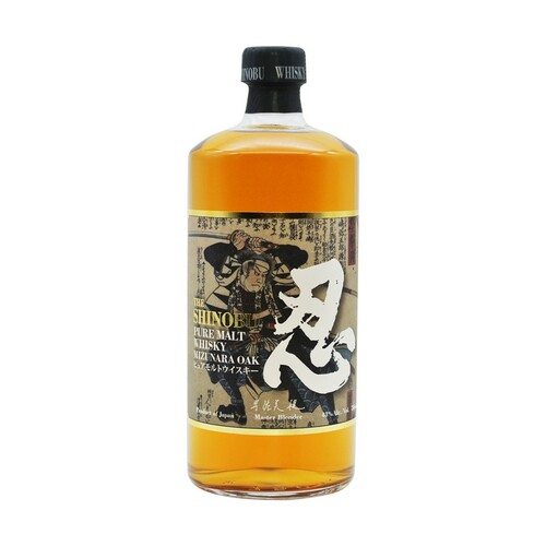 The Shinobu Pure Malt Japanese Whisky Aged in Mizunara Oak 750mL