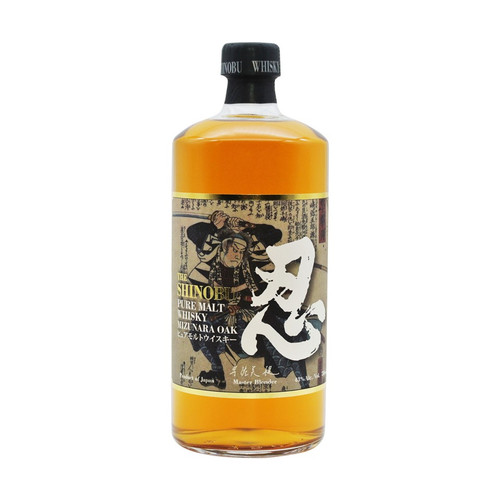 The Shinobu Pure Malt Japanese Whisky Aged in Mizunara Oak 750mL