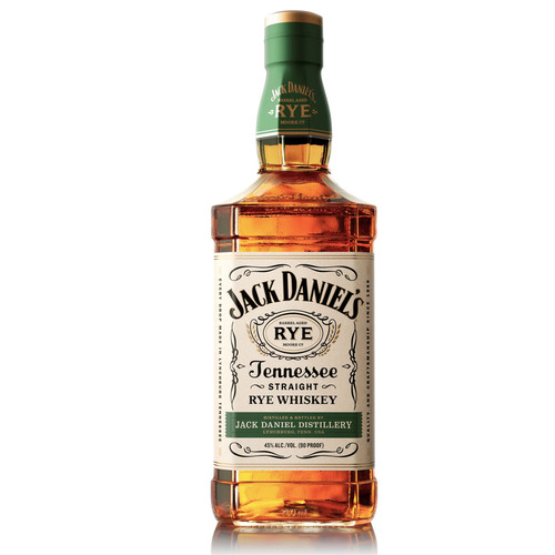 Jack Daniel's Straight Rye 750mL