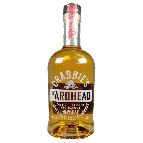 Crabbie's Yardhead Single Malt Scotch 750ml
