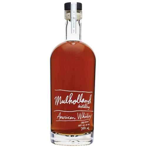 Mulholland Distillery American Whiskey 750mL