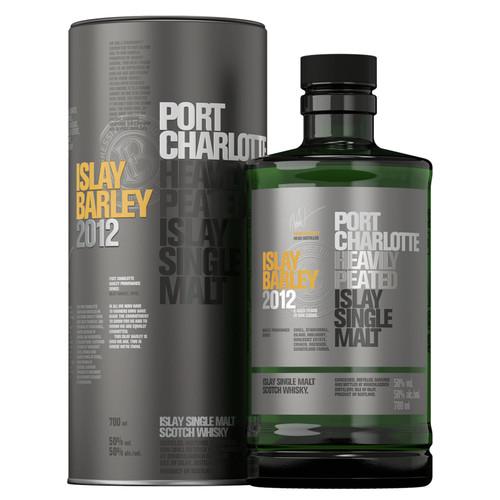 Bruichladdich Port Charlotte Islay Barley 2012 Single Malt Scotch 700mL