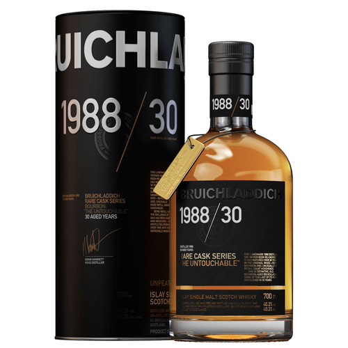 Bruichladdich 1988 30 Year Old - Rare Cask Series 700mL