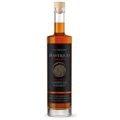 Cali Mavericks Doublewood Small Batch American Whiskey 750mL
