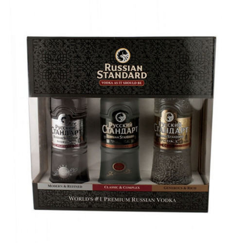 Russian Standard Vodka 3 Pack 50mL