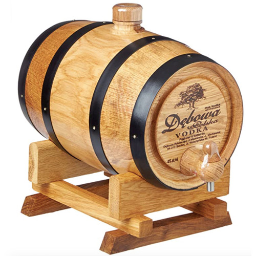Debowa Polska Oak Vodka Barrel 1.75 L